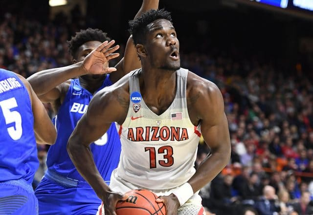 deandre ayton nba draft arizona