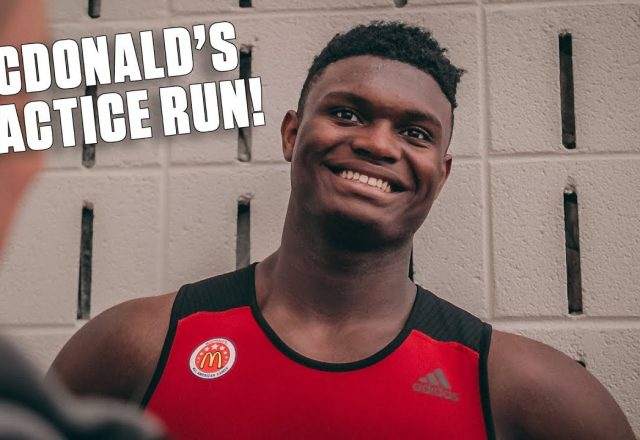 zion williamson mcdonald's practicezion williamson mcdonald's practice