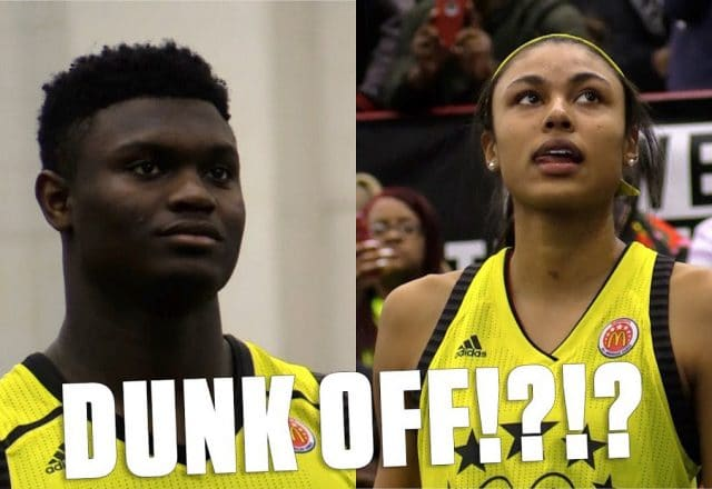 zion williamson olivia nelson-ododa dunk contest