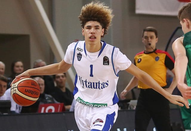 lamelo ball triple-double