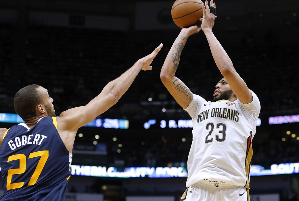 anthony davis rudy gobert all-defensive teams