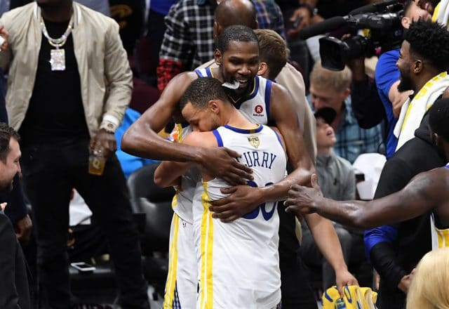 curry durant warriors finals sweep