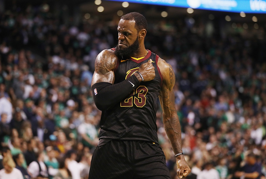 lebron james opts out free agent
