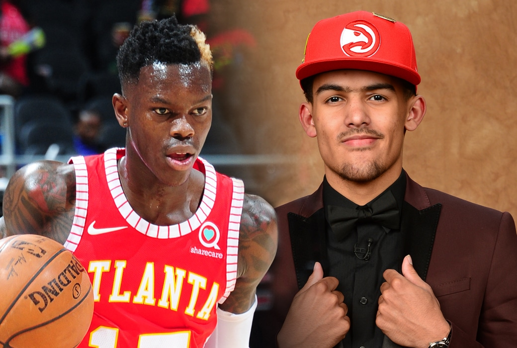dennis schroder trae young role model