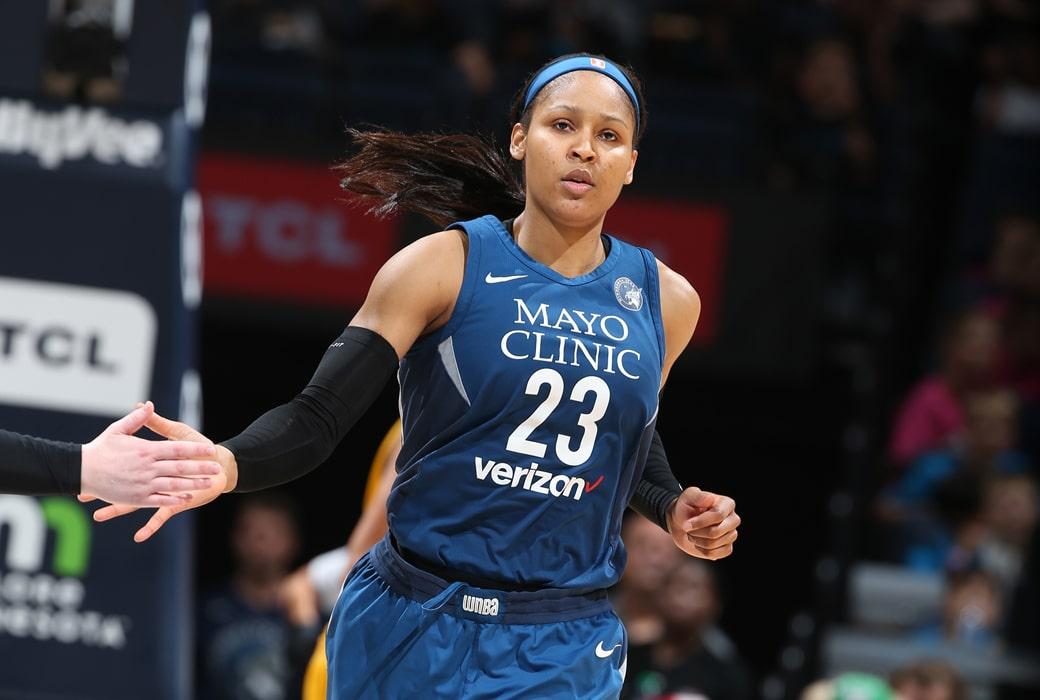 maya moore declines all-star captain