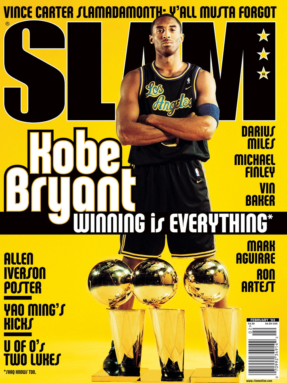 Check Out All Of Kobe Bryant S Iconic Slam Covers