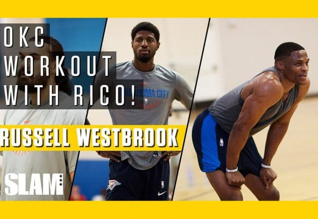 thunder workout westbrook george