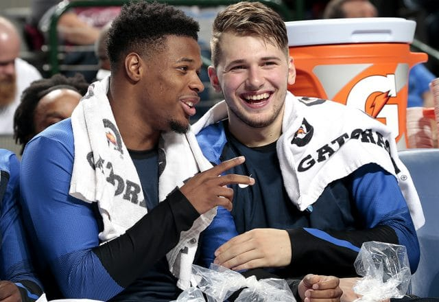 Dennis Smith Jr, Luka Doncic