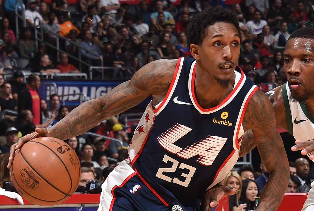 lou williams clippers post up