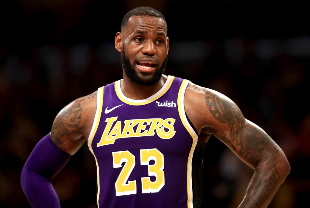 lebron james almost cracked