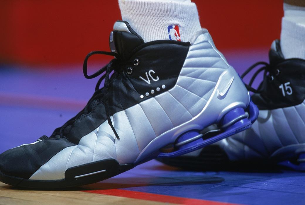 Vince Carter Wears Nike Shox BB4 2018 NBA Season   HYPEBEAST