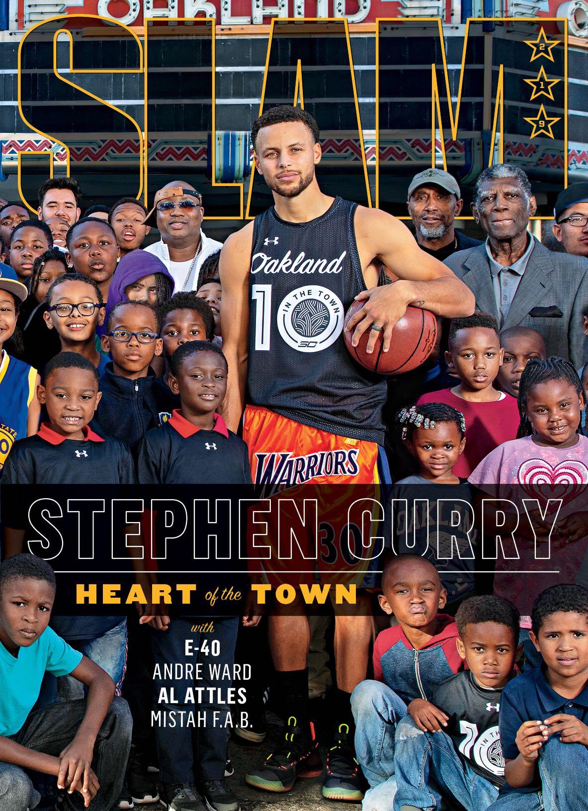 stephen curry slam 219