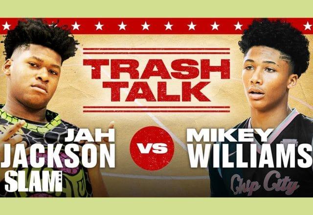 Mikey Williams and Jahzare Jackson