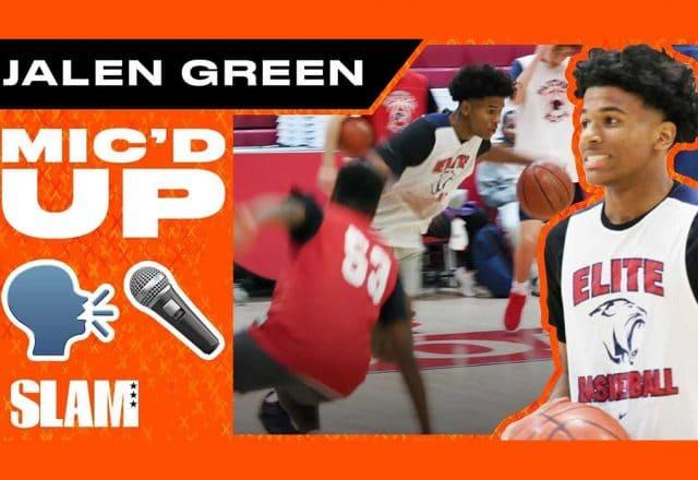 jalen green micd up