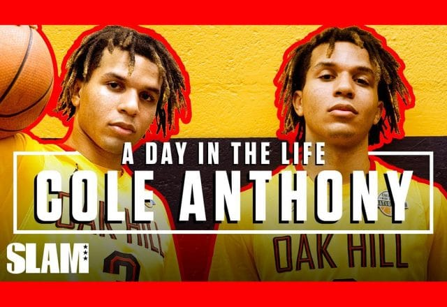 cole anthony day in the life