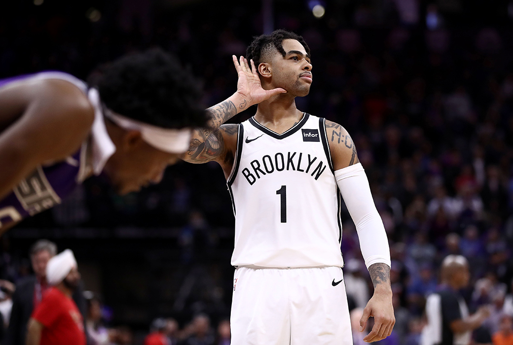 d'angelo russell career high 44 points post up