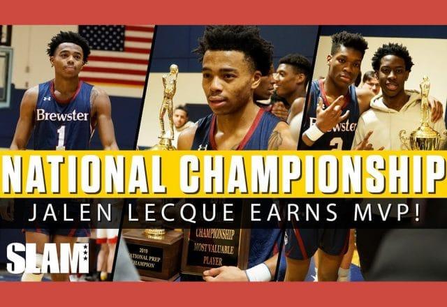 jalen lecque mvp national championship