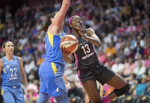 Chiney Ogwumike of the Connecticut Sun