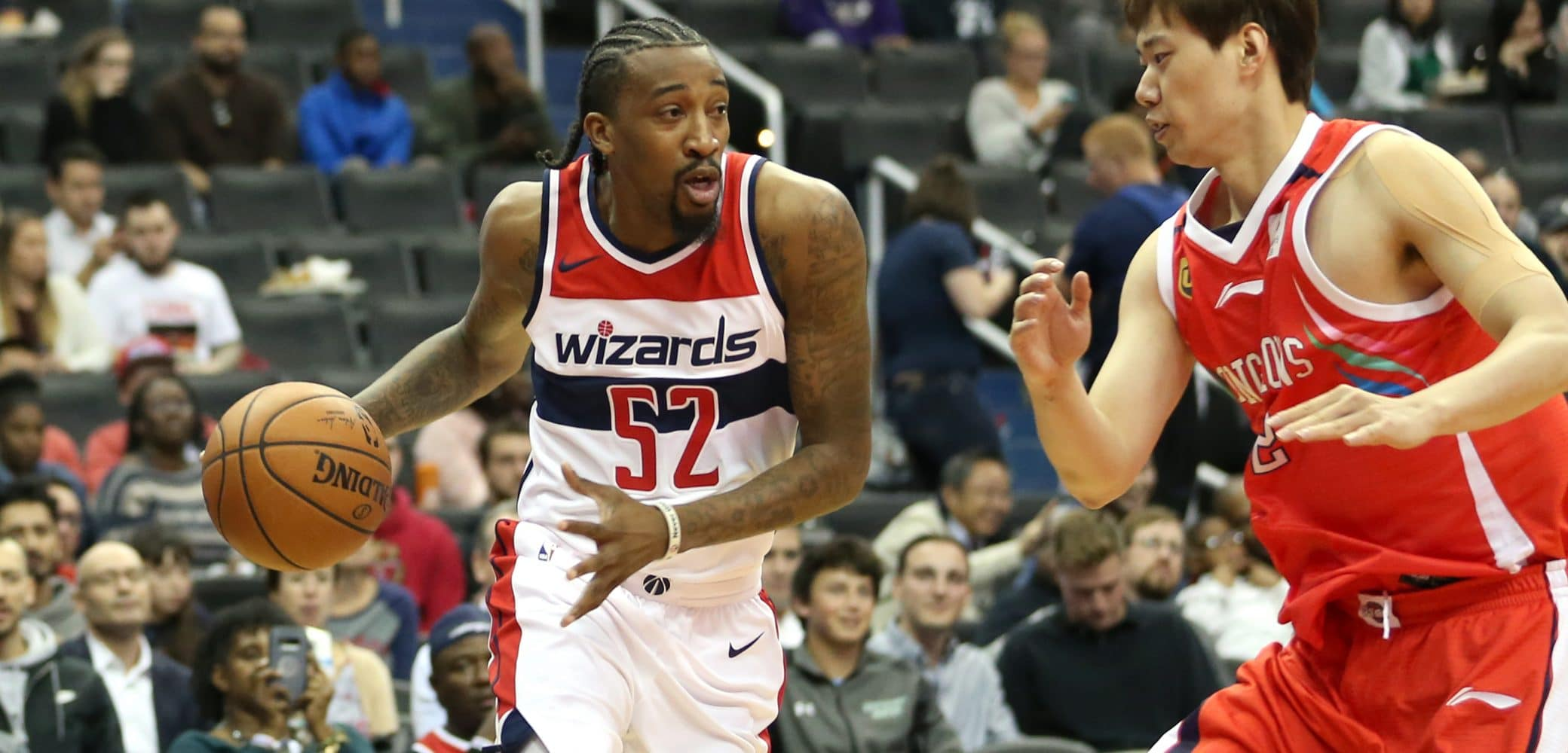 Jordan McRae of The Washington Wizards