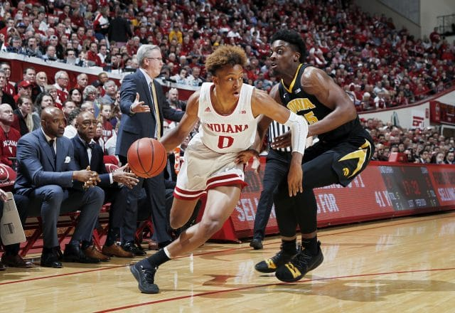 Romeo Langford of the Indiana Hoosiers