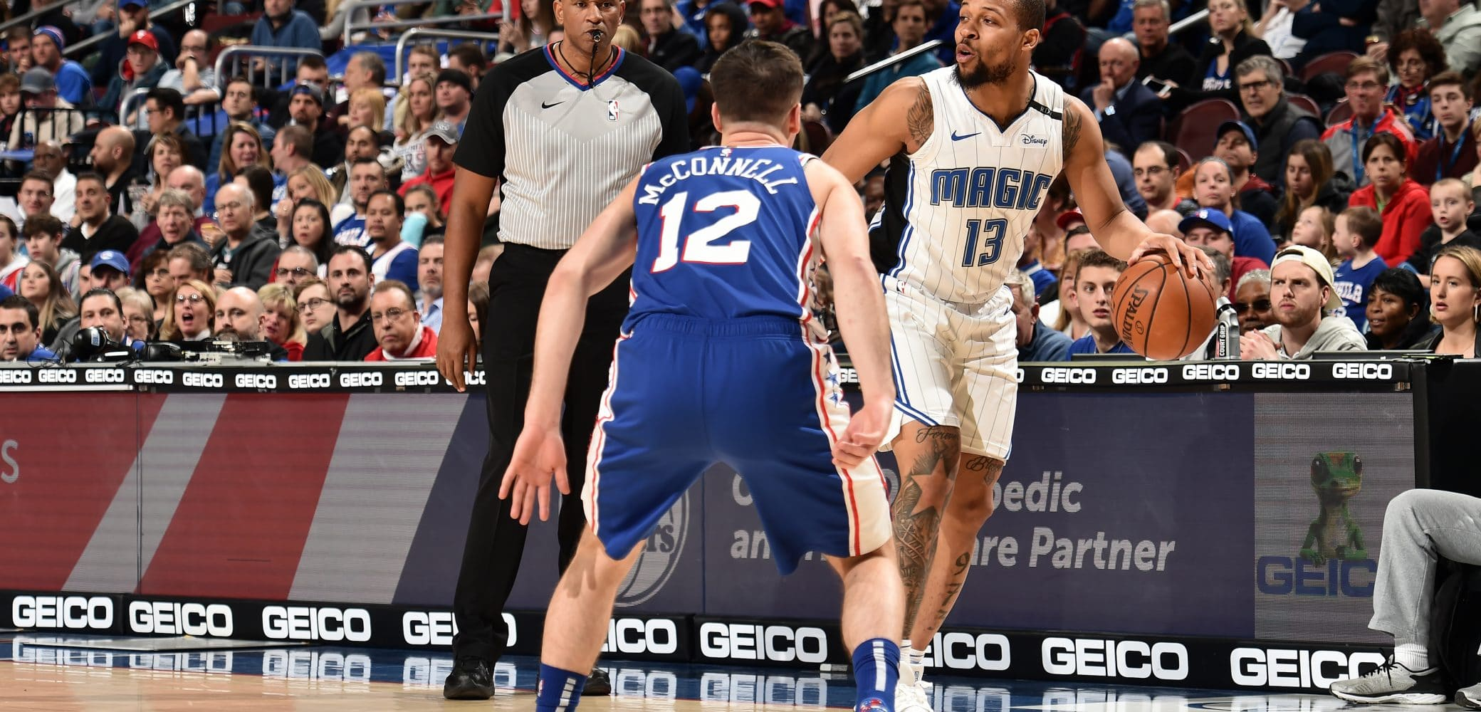 Isaiah Briscoe of the Orlando Magic