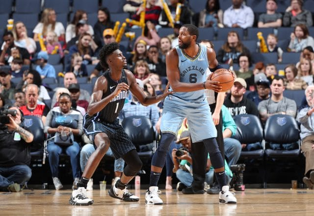 C.J. Miles of the Memphis Grizzlies