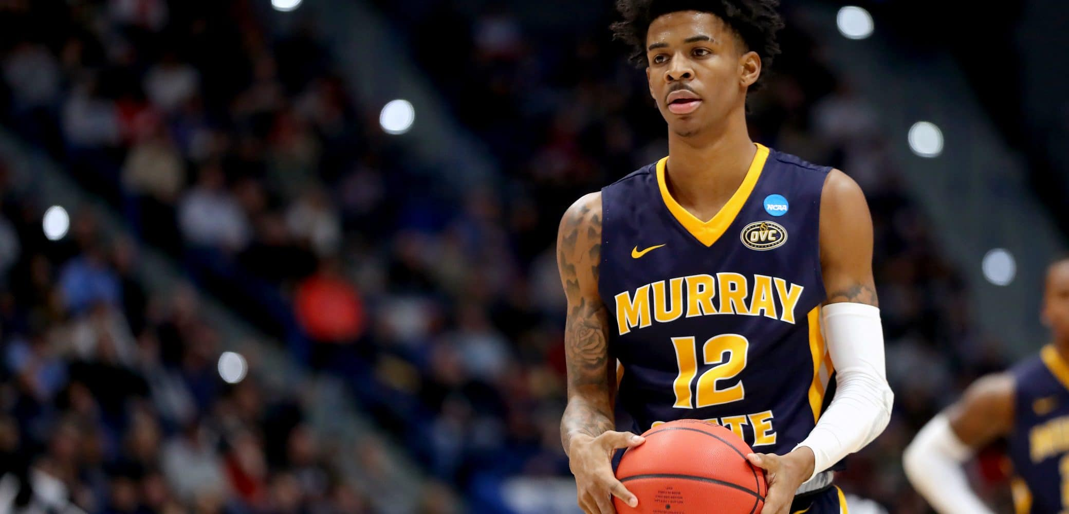 Ja Morant of the Murray State Racers