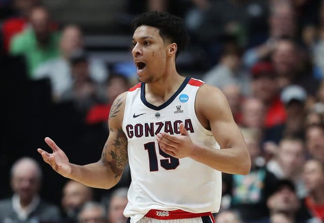 Brandon Clarke of the Gonzaga Bulldogs