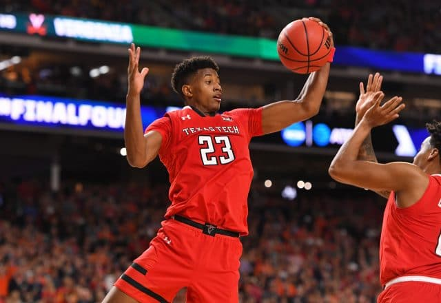 Jarrett Culver of the Texas Tech Red Raiders