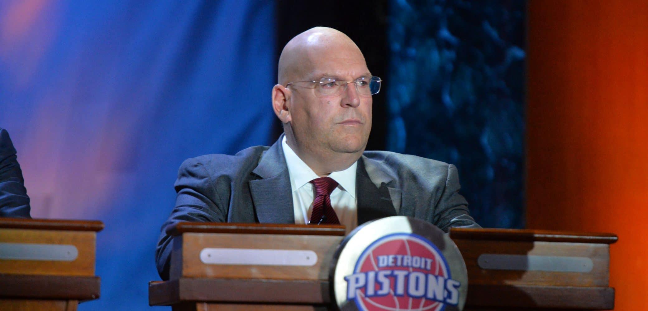 Jeff Bower of the Detroit Pistons