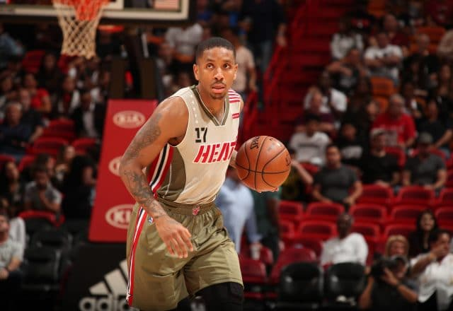 Rodney McGruder of the Miami Heat