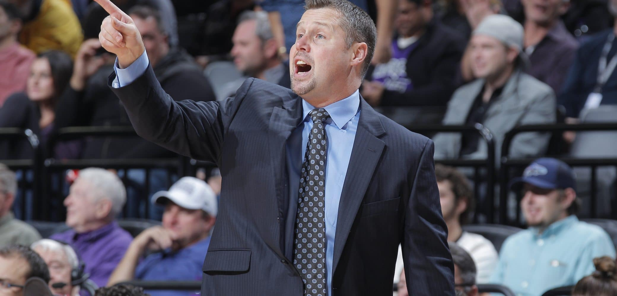 Dave Joerger of the Sacramento Kings
