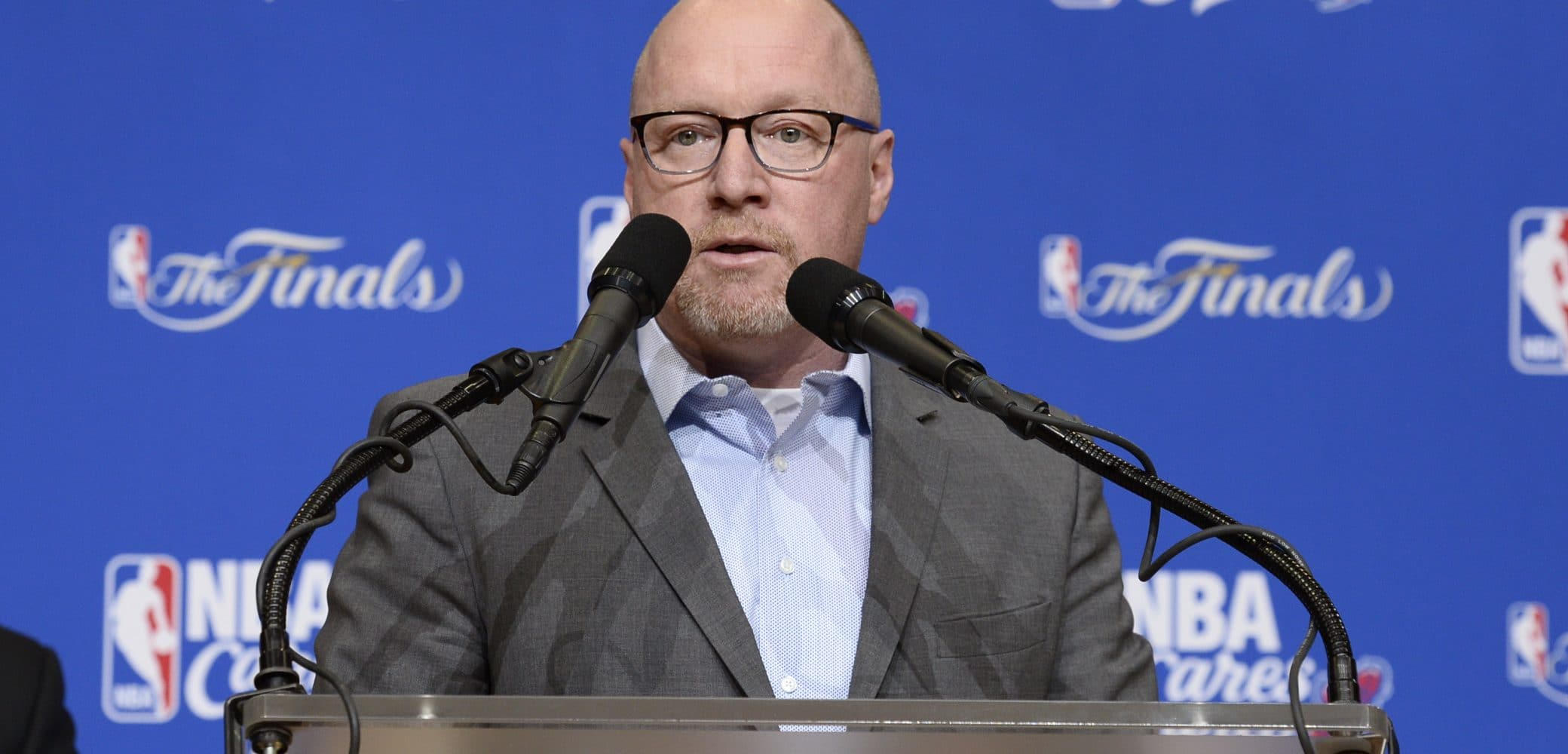 David Griffin of the Cleveland Cavaliers