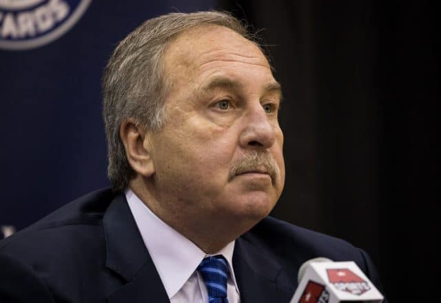 Ernie Grunfeld of the Washington Wizards