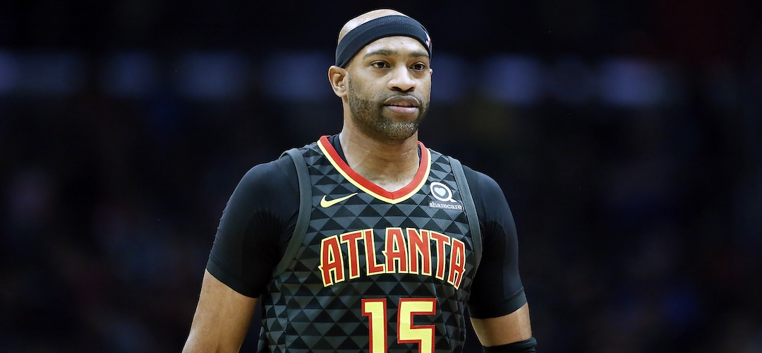 Vince Carter of the Atlanta Hawks