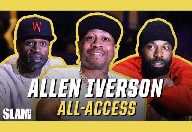 allen iverson classic all-access