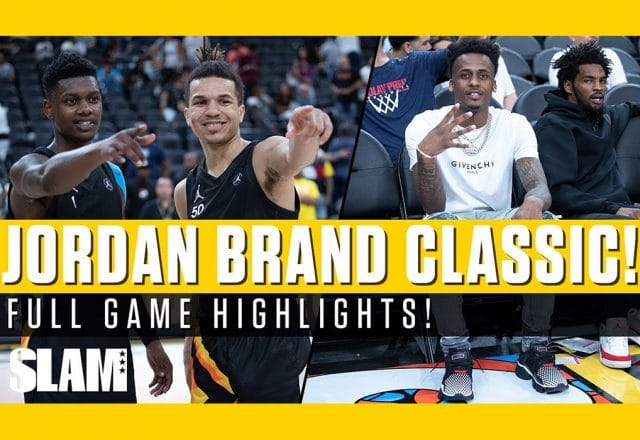 jordan classic cole anthony mvp
