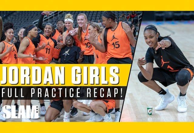 jordan girls practice