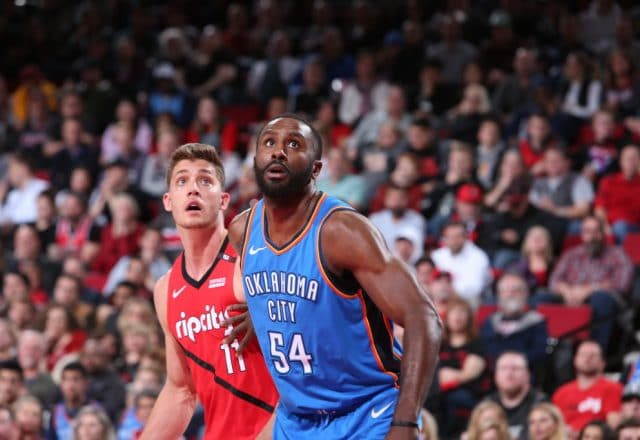 Patrick Patterson of the Oklahoma City Thunder