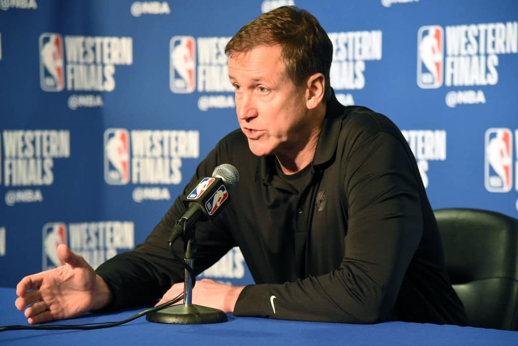 Terry Stotts of the Portland Trail Blazers