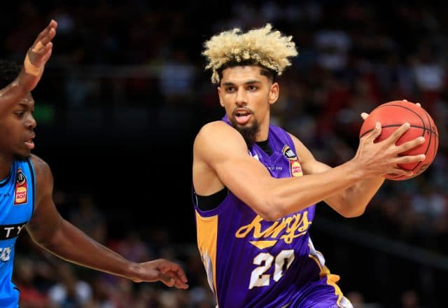 Brian Bowen of the Sydney Kings