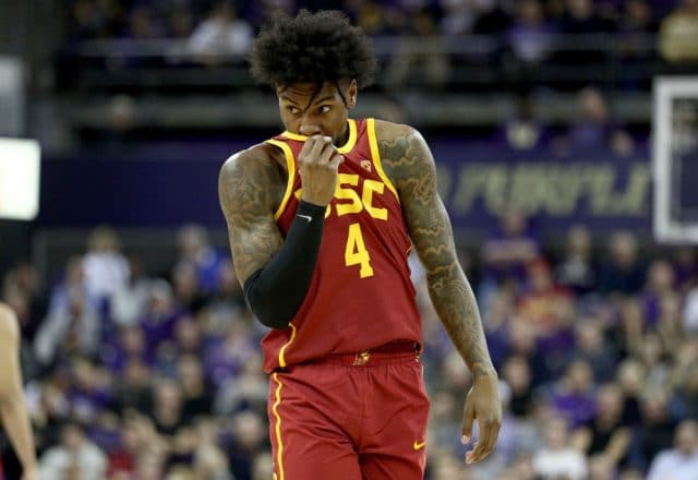 Kevin Porter Jr. of the USC Trojans