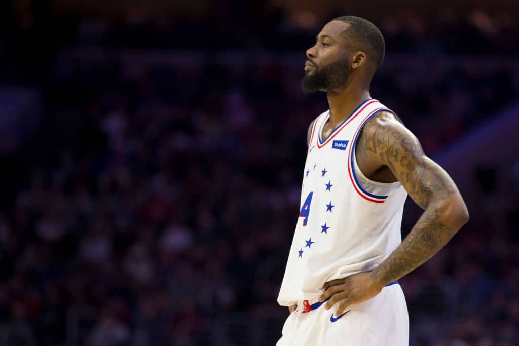 Jonathon Simmons of the Philadelphia 76ers