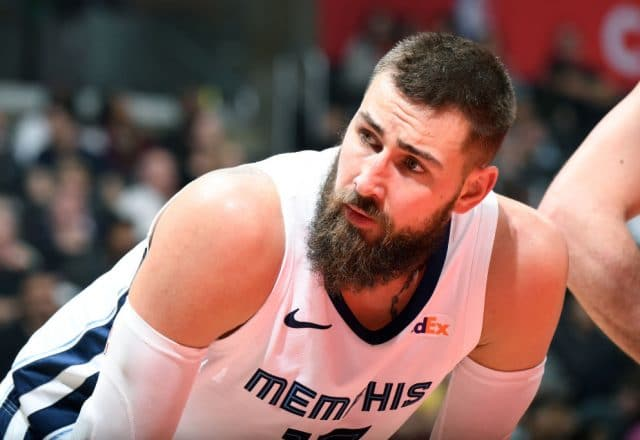 Jonas Valanciunas of the Memphis Grizzlies
