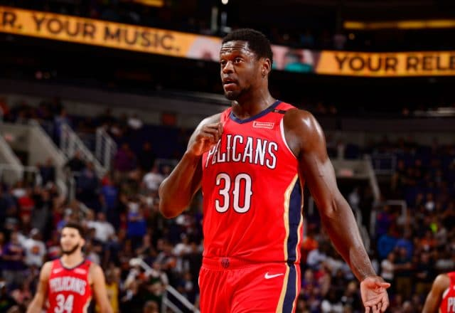 Julius Randle of the New Orleans Pelicans