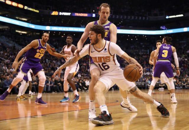 Tyler Johnson of the Phoenix Suns