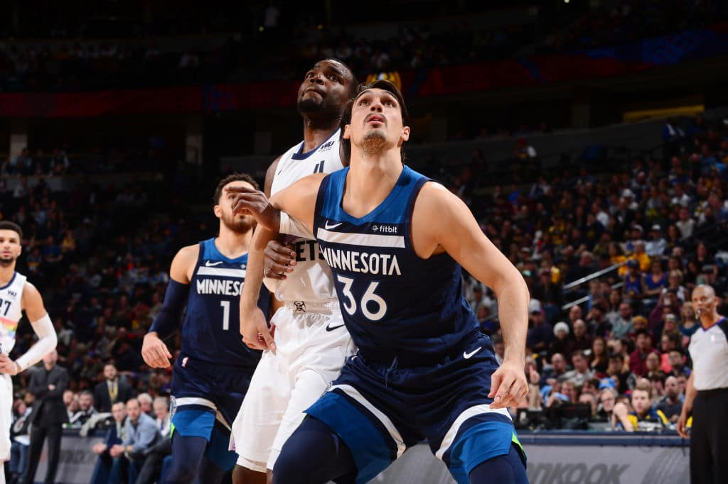 Dario Saric of the Minnesota Timberwolves