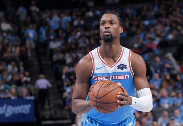 Harrison Barnes of the Sacramento Kings