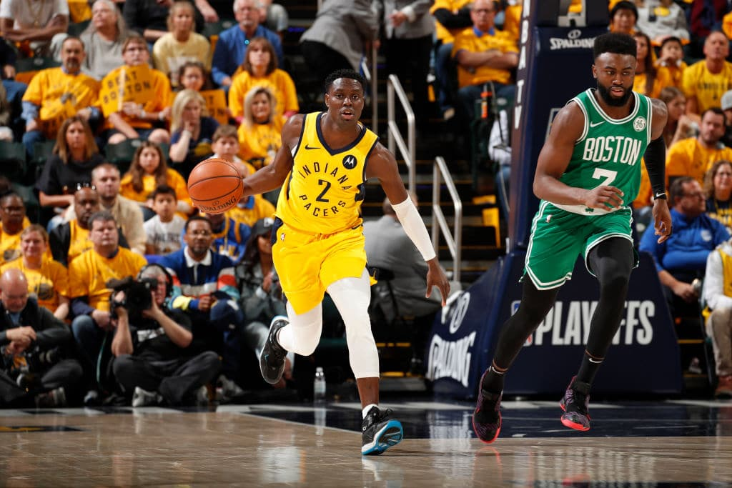Darren Collison of the Indiana Pacers