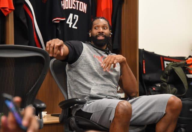 Nene of the Houston Rockets